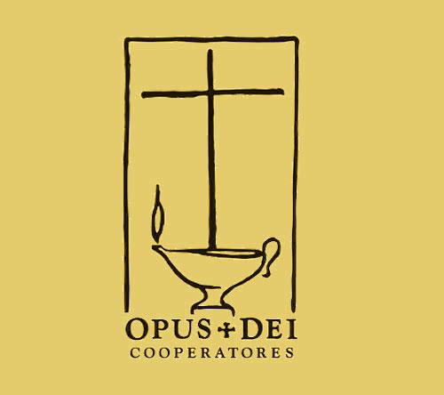 selo dos cooperadores do Opus Dei