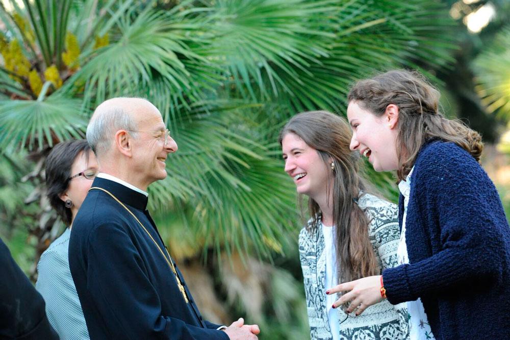 Encontro de Jovens com o Prelado do Opus Dei